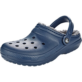 Crocs Classic Lined Clogs, navy/charcoal